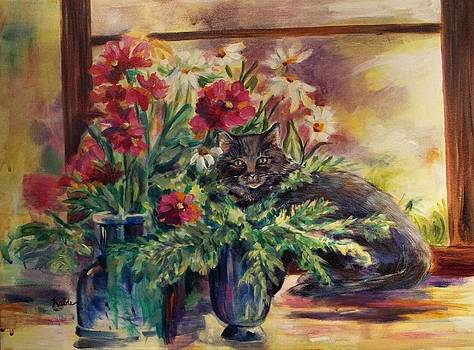 Cats View by Carol Kable