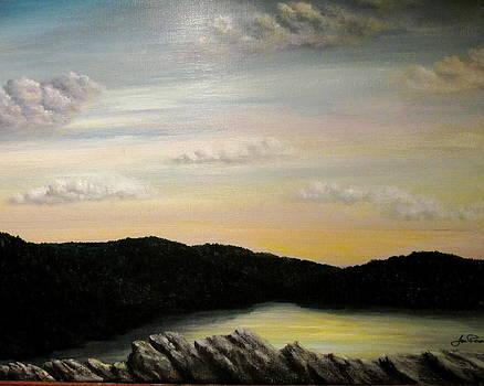 Catskills at Sunset by Jim  Romeo