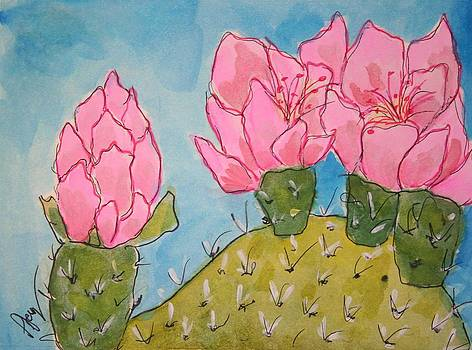 Catus Flower by Pjay Mcconnell