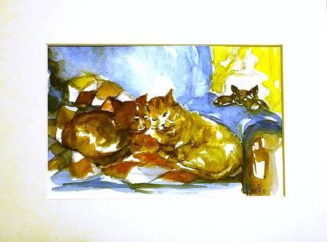 Catz-zzz by Kathleen Neff