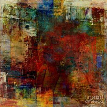 Caught in Paint by Fania Simon