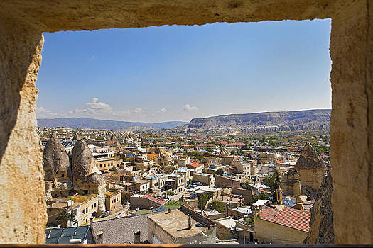Kantilal Patel - Cave window view of Goreme