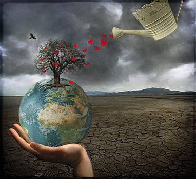 Celebrate earth day...everyday by Marie  Gale