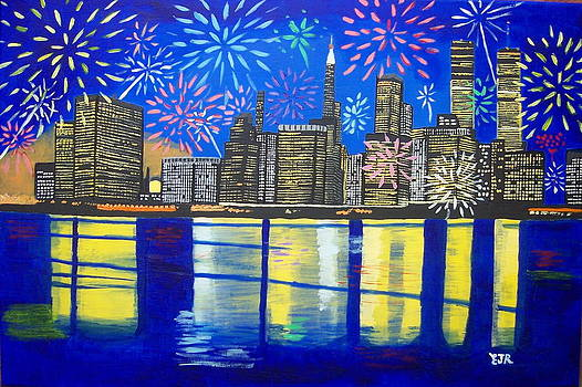 Celebrate New York Your Spirit Will Never Die by Eamon Reilly