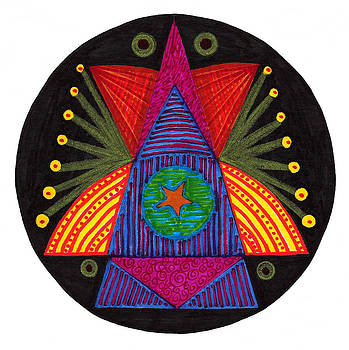 Celebration Mandala by Robens Napolitan Tom Kramer