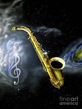 Celestial Blues by Al  Brown