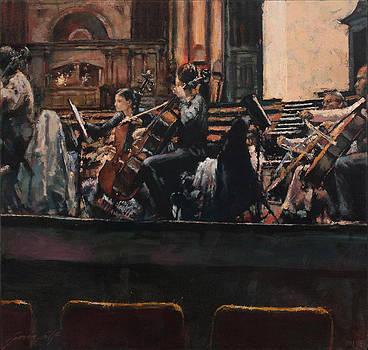 Celloes Second Desk by Gavin Calf
