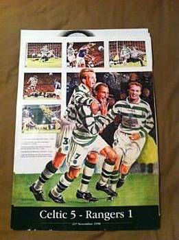 Celtic FC Art work 5 1 by John Slavin