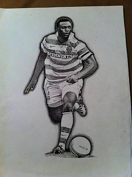 Celtic FC art work by John Slavin