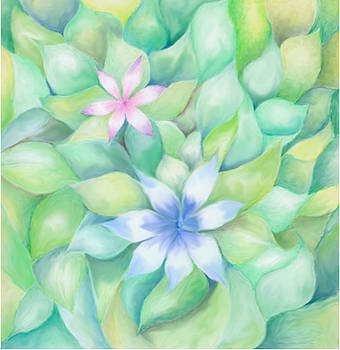 Celtic Flowers by Linda Pope