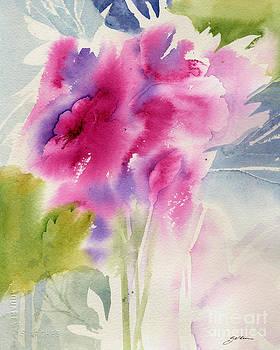 Cerise Garden by Sheila Golden