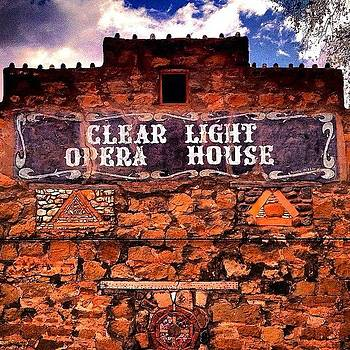 Cerrillos Opera House by Felice Willat