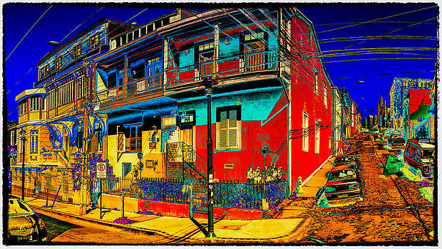 Cerro Alegre by Peter Crass