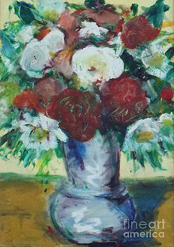 Cezanne meets Interflora by David Abse