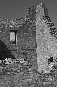 Chaco Canyon B and W by David Pettit