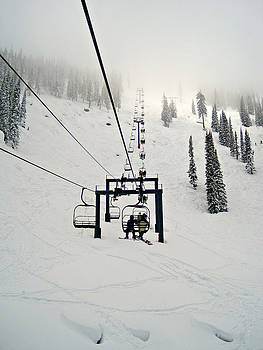 Chairlift to Heaven by Carmen Sandrone