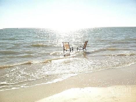 Chairs in Florida by Bonnie Wright