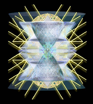 Chalices from Pi Sphere GoldenRay III by Christopher Pringer