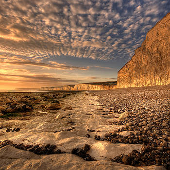 Chalky Path by Mark Leader
