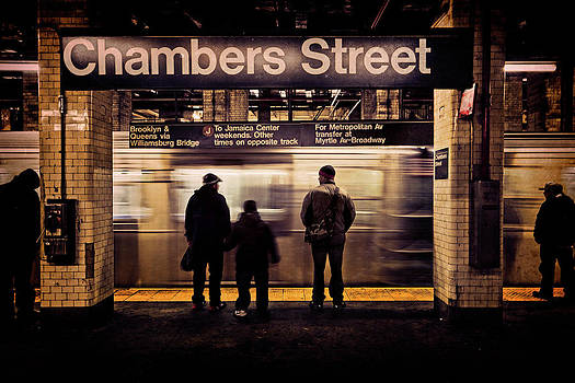 Chambers Street Station by Chris Lord