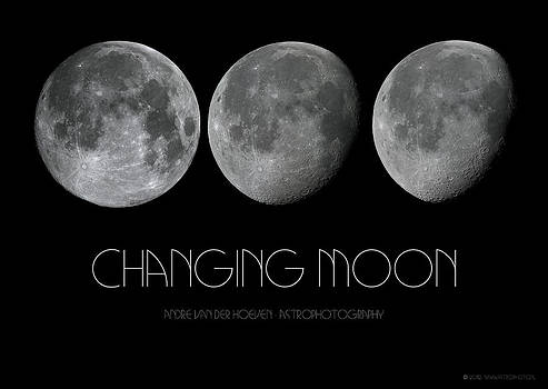 Changing moon by Andre Van der Hoeven