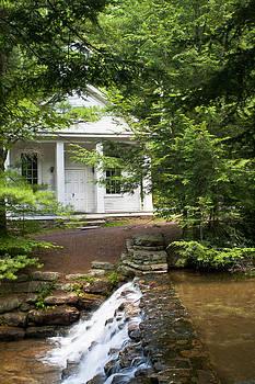 Chapel at Hickory Run State Park by Frank Morales Jr