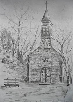 Chapel in the Woods by Brian Hustead
