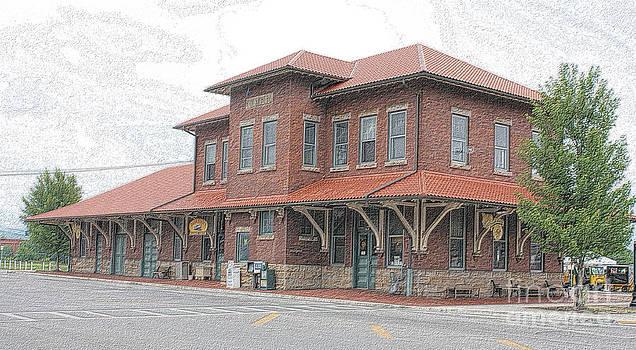 Charcoal Elkins Station  WV  by Denise Jenks