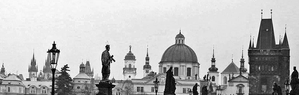 Charles Bridge and Old Town Prague by Paul Pobiak
