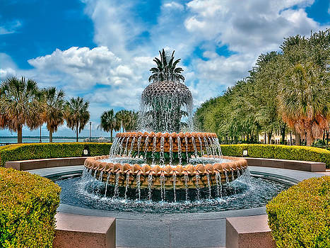 Charleston Fountain Waterfront park by Jenny Ellen Photography