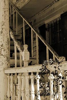 Charleston Starecase by Melissa Wyatt