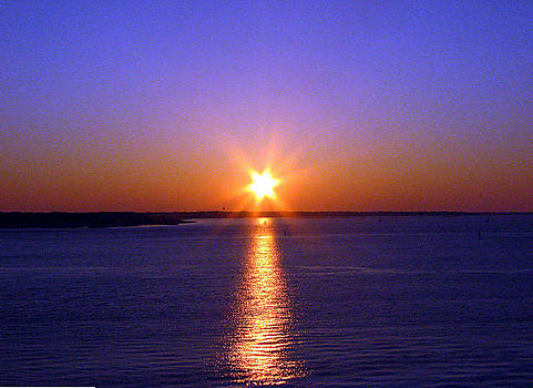 Charleston Sunrise by David Campbell