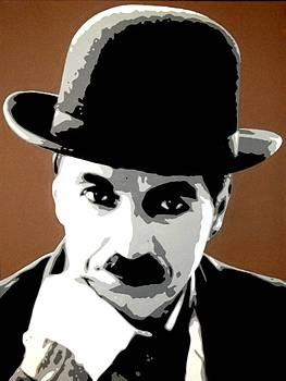 Charlie Chaplin by Dan Carman