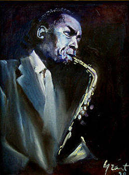 Charlie Parker 1 by Grant Aspinall
