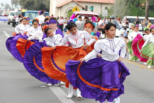 Charro Days Parade by Joshua Claudio