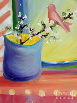 Cheerful songbird by Susan Vannelli