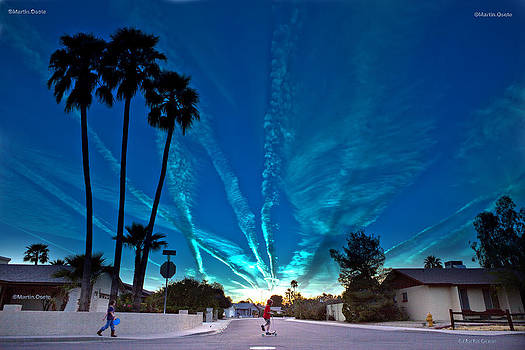 Chemtrails by Martin Osete
