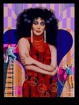 Cher - Bill Board by George Torjussen