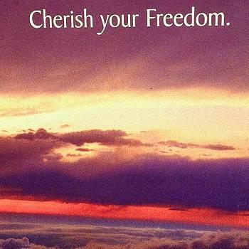 Cherish freedom by Harman Kaur