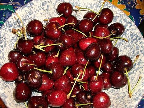 Cherries by Sandra Clayton