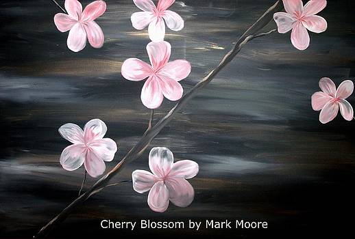 Cherry Blossom by Mark Moore by Mark Moore