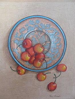 Cherry breakfast by Fran Haas