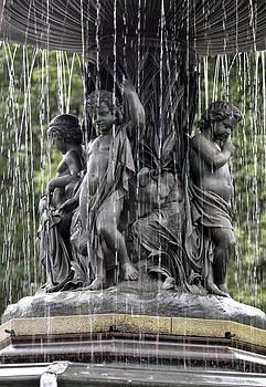 Cherub Bethesda Fountain  by Sarah McKoy