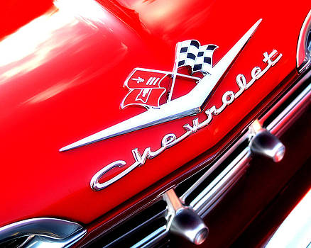 Chevy Red by Michael Shreves