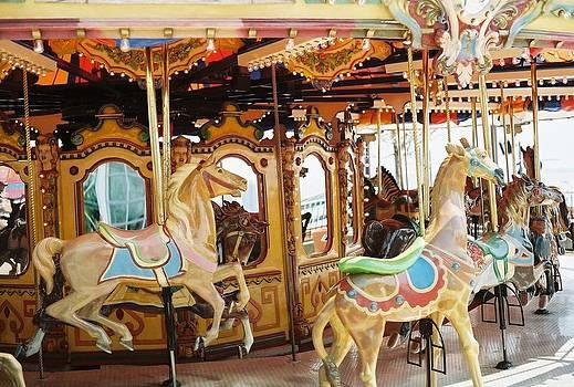 Chicago Carousel Ride by Christopher Karczewski
