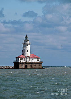 Chicago Lighthouse by Maria Aiello
