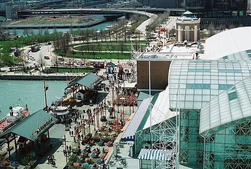 Chicago Navy Pier View by Christopher Karczewski