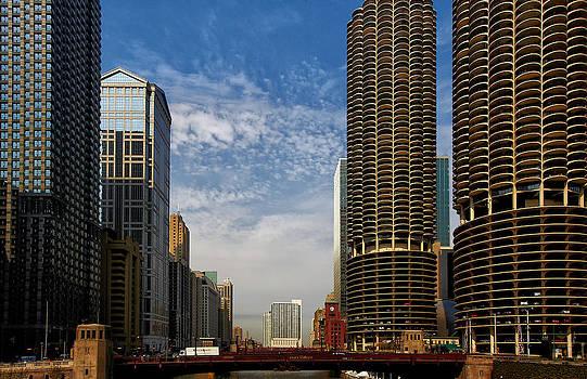 Chicago River by Slava Shamanoff