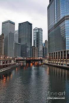 Chicago River by Tom Andrews