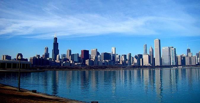 Rosanne Jordan - Chicago Skyline